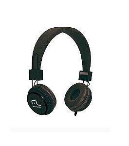 Fone De Ouvido Multilaser Com Microfone Headfun Preto PH115 Multilaser