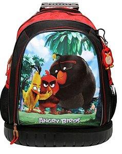 Mochila de Rodinha Escolar Angry Birds  ABC801230 Santino