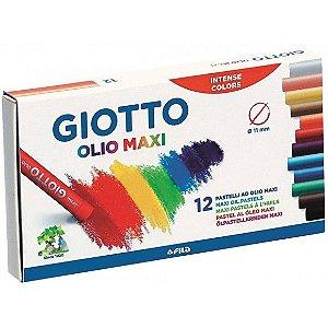 Giz Pastel Oleoso C/12 Cores Giotto