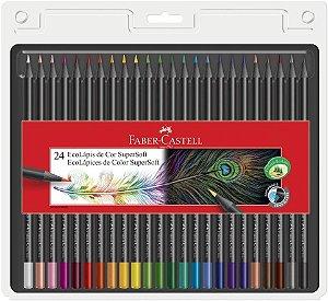 Lápis De Cor 24 Cores Supersoft Faber- Castell