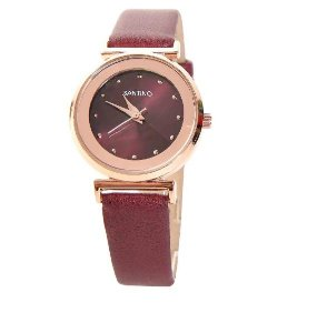 Relógio Quartz Vinho R. SAR4U08 RSantino