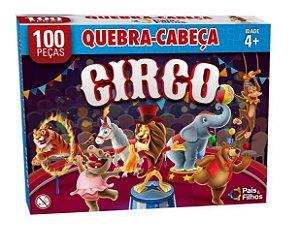 Quebra Cabeça 100 Peças Circo - Pais & Filhos