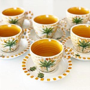 Xícara Chá Bananeira