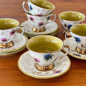Xícaras Chá Papoulas