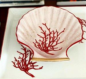 Concha Coral 1 - Coleção Petiscos e Home Decor