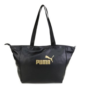 Bolsa Puma Core Up Large Shopper - Preto e Dourado