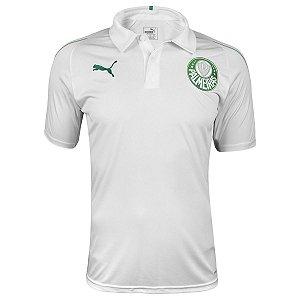 Camisa Polo Puma Palmeiras Branca