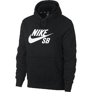 Moletom Nike SB Icon Hoodie Preto