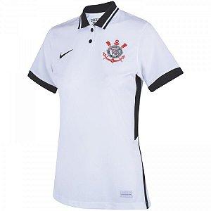 Camisa Nike Corinthians I 20/21 Feminina