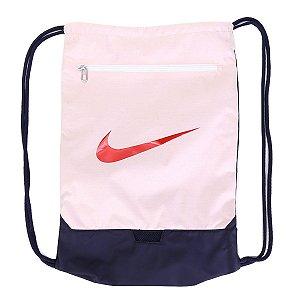 Sacola Nike Brsla Gmsk 9.0 - Rosa e Vermelho