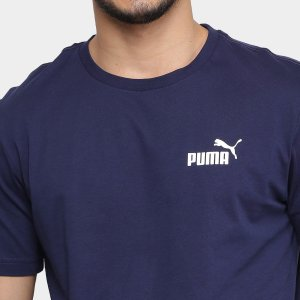 CAMISETA PUMA ESSENTIALS TEE PEACOAT