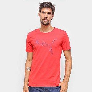 Camiseta Puma Ka Tee Vermelha