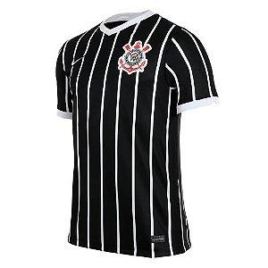 Camisa Corinthians II 20/21 s/n° Torcedor Nike Masculina - Preto/Branco
