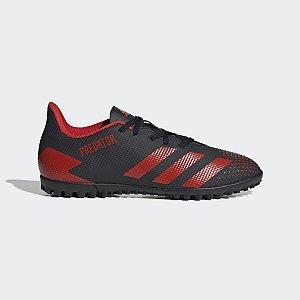 Chuteira Adidas Predator 20.4 Society Preto