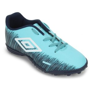 Chuteira Umbro Burn Jr Society Verde