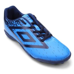 Chuteira Umbro Acid Jr Society Azul
