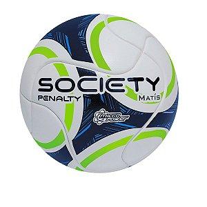Bola de futebol Society Matis Ix Branco e Azul