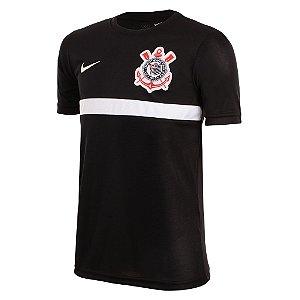 Camisa Nike Treino Corinthians Infantil