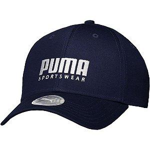 Boné Puma Stretchfit BB Unissex Azul Marinho
