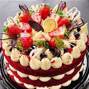 Torta Red Velvet | Cream cheese