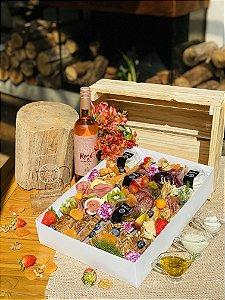 Platter Leiteria G com vinho La Linda