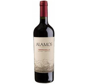 Vinho Alamos Tempranillo 2018