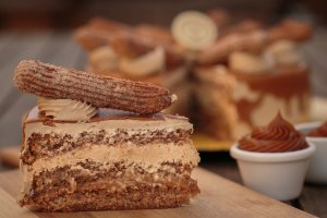 Torta do Churros (fatia)