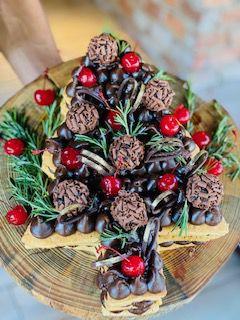 Christmas Tree - Brigadeiro