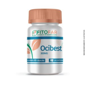 Ocibest ® 300mg - Gerenciador natural do stress e controle da compulsão alimentar