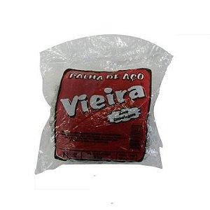 PALHA DE ACO N.2 VIEIRA 25 GR (UND)