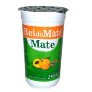CHA MATE PESSEGO COPO 12 X 290ML REI DO MATE