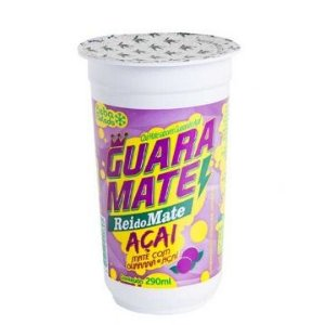 CHA MATE GUARANA-AÇAI COPO 12 X 290ML REI DO MATE