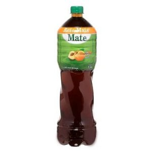CHA MATE PESSEGO PET 6 X 350ML REI DO MATE