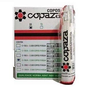 COPO 200 ML COPAZA TRANSPARENTE (25x100)