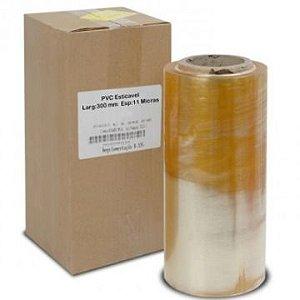 FILME PVC TRANSPARENTE 38 X 10 X 1000mt