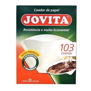 FILTRO DE CAFE JOVITA 103 C/30