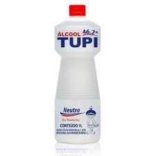 ALCOOL 46,2° LIQUIDO TUPI 12x1000ml