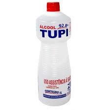 ALCOOL 92,8° LIQUIDO TUPI 1 LITRO