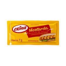 MOSTARDA SACHET EKMA 168X7G