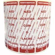 LACRE DE SEGURANÇA C/500