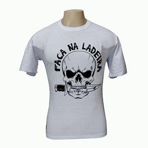Camiseta Ladeiras - Faca na Ladeira Branca
