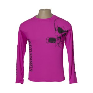 Camiseta Treino - Caveira Trail Run Baby Look