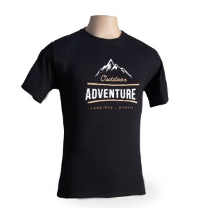 Camiseta Passeio - Outdoor Mountain