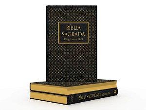 Bíblia King James 1611 | Semi Luxo | Preta