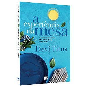 A Experiência da Mesa | Nova Capa | Devi Titus