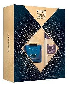 Kit King Of Seduction Absolute 100ml + Desodorante 150ml