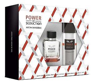 Kit Power Of Seduction 100ml + Desodorante Spray 150ml