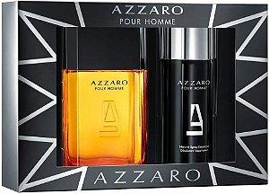 Kit Azzaro Pour Homme 100ml + Desodorante Spray 150ml