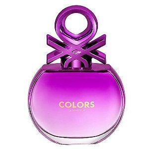 Benetton Colors Woman Purple - Eau de Toilette - Feminino - 80ml