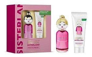 Kit Sisterland Pink Raspberry 80ml + Body Lotion 75ml